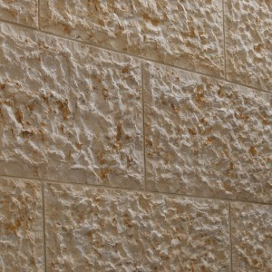 Jerusalem Gold Rough Chiseled
